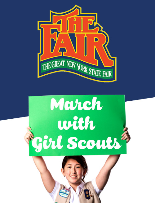 March with us at the Great NYS Fair!