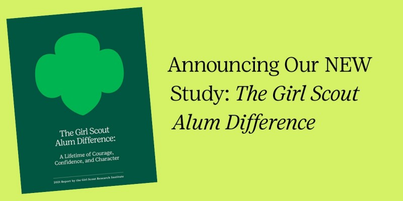 The Girl Scout Alum Difference